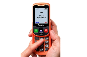Alto  un telephone mobile vocale (VIP) orange